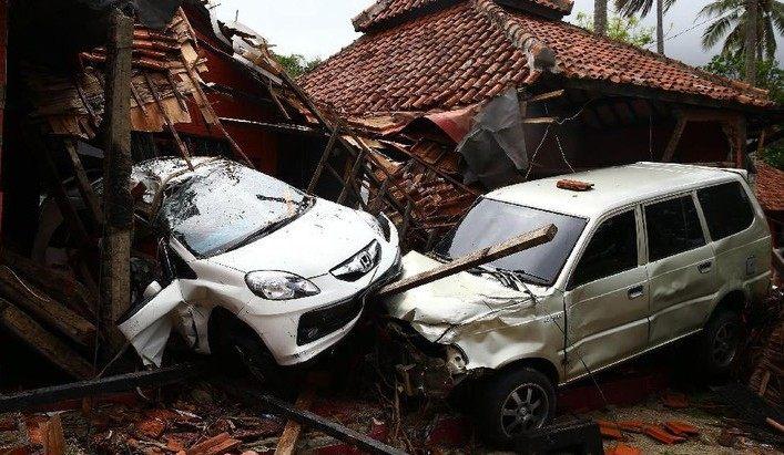 Korban Terkini Tsunami Selat Sunda: 168 Meninggal, 750 Luka, 30 Hilang