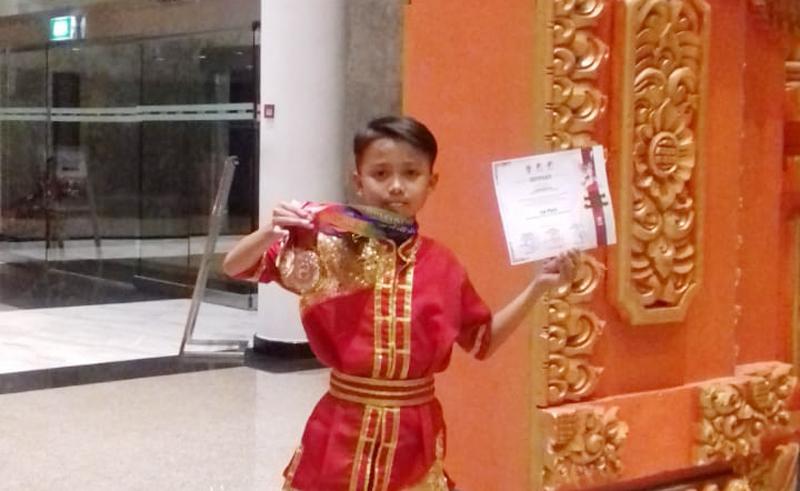 Santri Al-Mursyidah Jombang Raih Juara Internasional Kung Fu di Bali