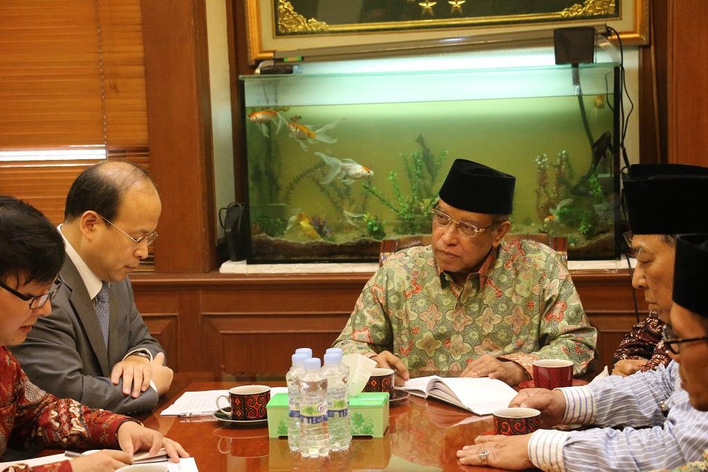 Pembicaraan PBNU-Dubes China soal Muslim Uighur