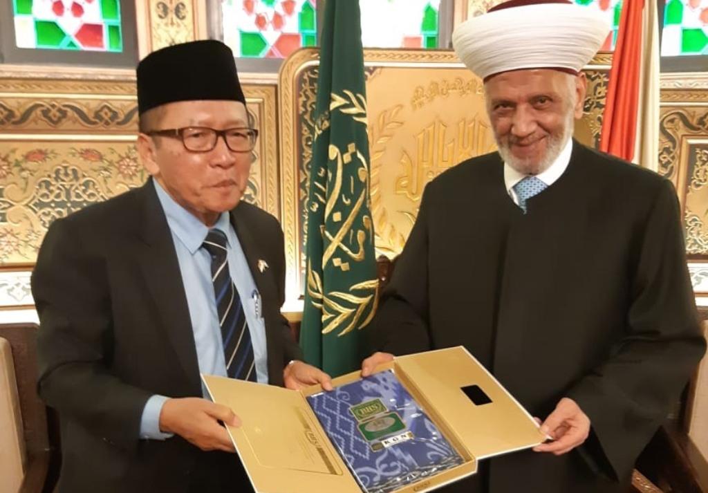 Grand Mufti Lebanon Doakan Indonesia Kuat Hadapi Musibah