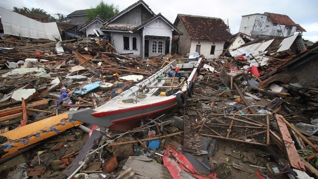 Jumlah Terkini Korban Meninggal Tsunami Selat Sunda Capai 429 Orang