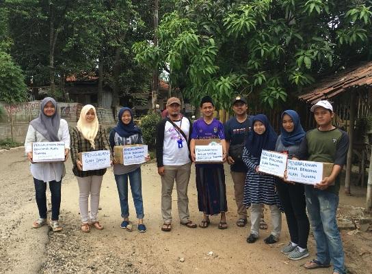 Warga Tangerang Galang Dana untuk Korban Tsunami Selat Sunda