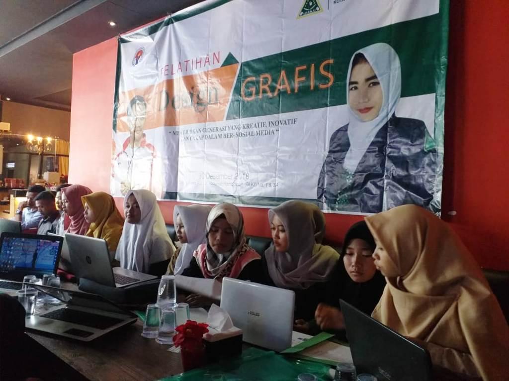 IPPNU Kota Pontianak Ajak Anak Muda Kuasai Desain Grafis