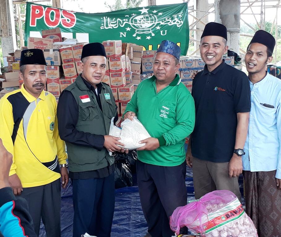 PCNU Pringsewu Kunjungi Pengungsian Korban Tsunami Lampung Selatan