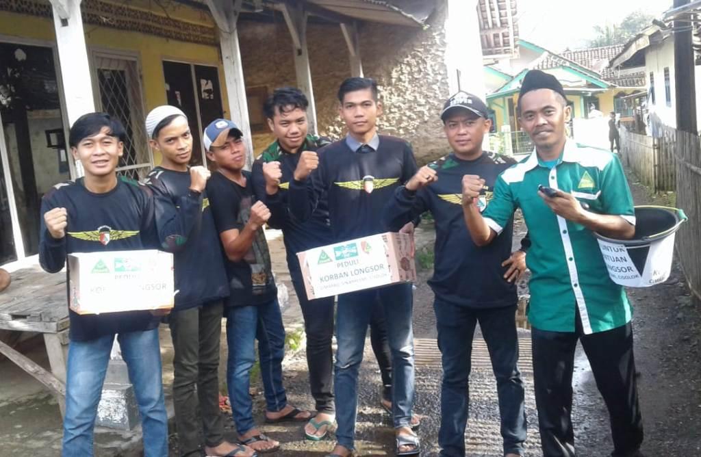 GP Ansor Simpenan Galang Bantuan untuk Korban Longsor