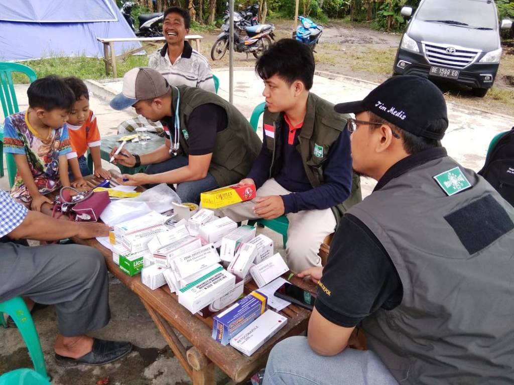 NU Peduli Terjunkan Mobile Clinic Tangani Kesehatan Korban Tsunami