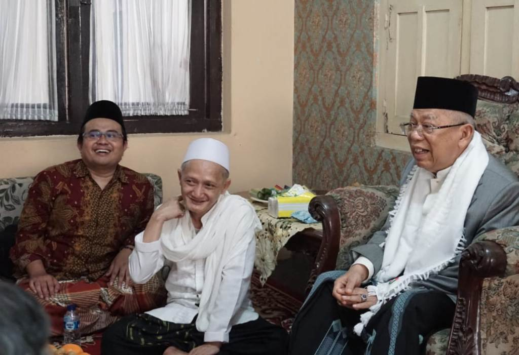 Di Pesantren Al-Falak, Kiai Ma'ruf Amin Kenang Ulama Jawa Barat