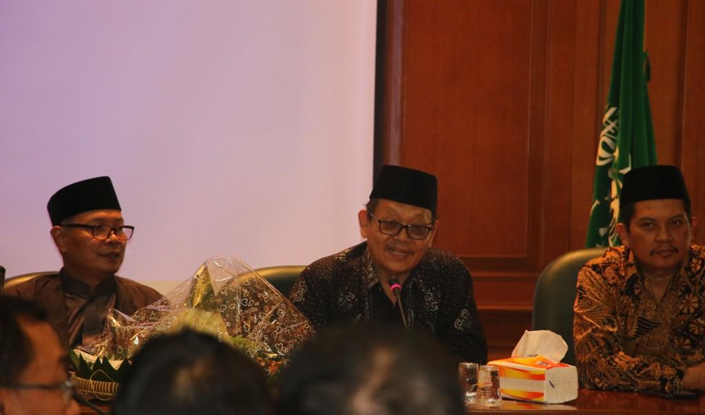 PBNU Tasyakuran atas Terbentuknya Koperasi Masjid Nusantara