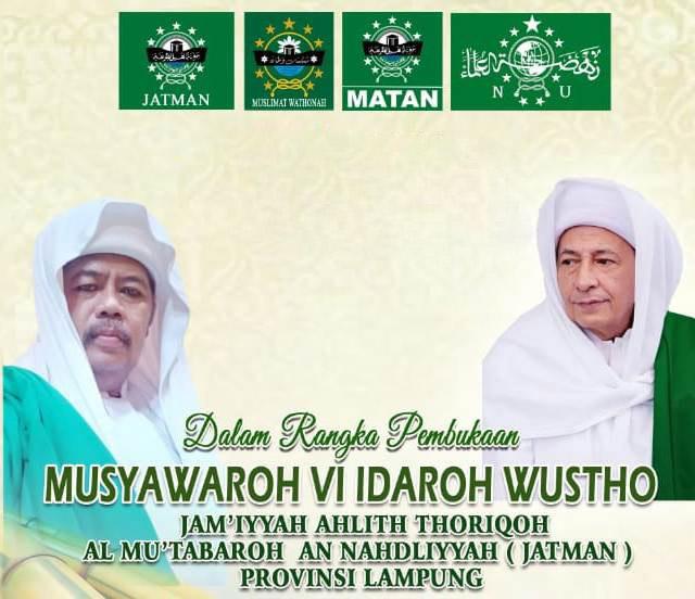 Habib Luthfi Dijadwalkan Hadiri Musyawarah Idaroh VI JATMAN Lampung