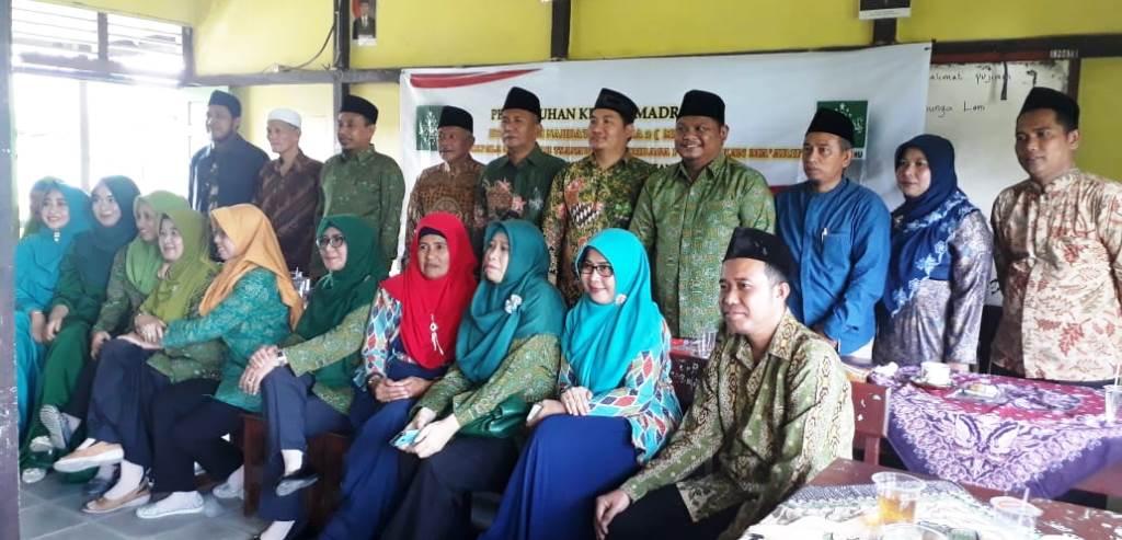 Ma'arif NU Kota Pontianak Lakukan Pergantian Pimpinan Madrasah