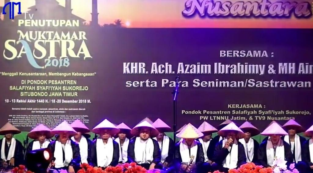 Jamiyah Bhenning; KHR Achmad Azaim Ibrahimy, Shalawat, Sastra, dan Budaya