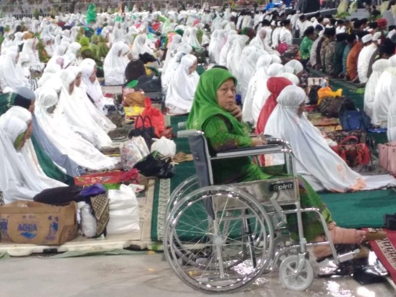 Jamaah Disabilitas yang Terpanggil karena Cinta pada Muslimat NU