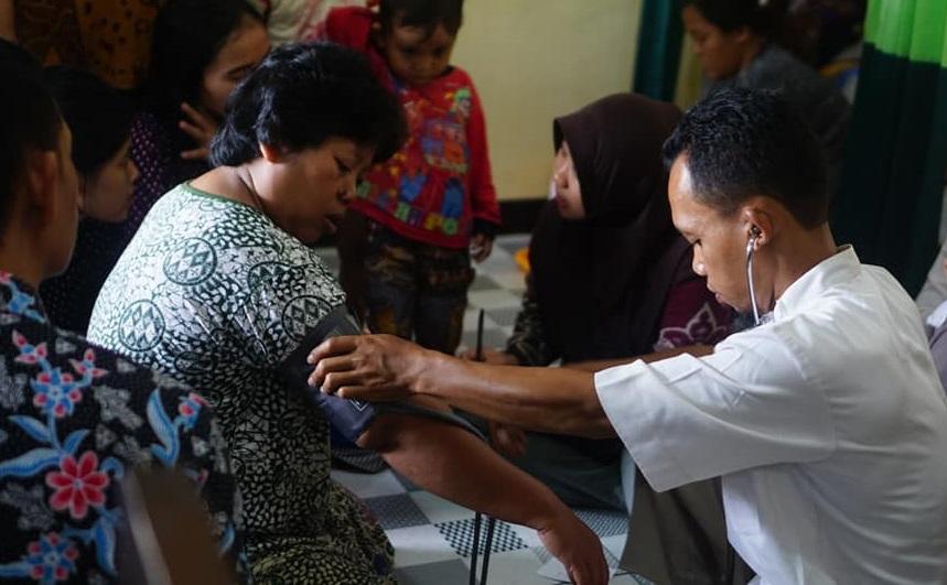 NU Peduli Beri Layanan Kesehatan Gratis bagi Korban Banjir Pekalongan