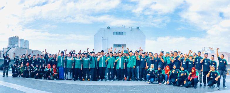 Kepak Sayap Banser di Bumi Formosa