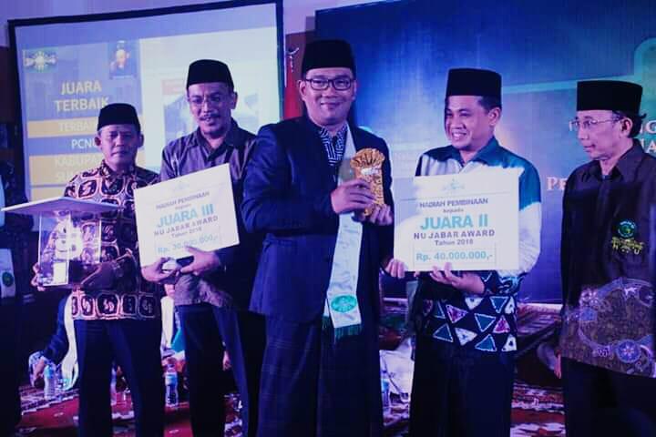 "Anugerah ""NU Jabar Award"" untuk Empat PCNU Berprestasi"