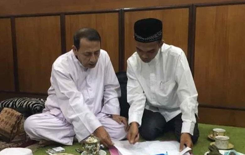 UAS Silaturahim Habib Luthfi dan Mbah Maimoen