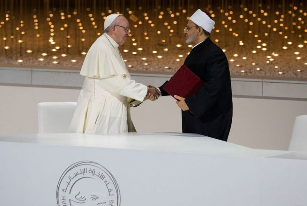 Harapan Baru dari Deklarasi Grand Syekh Azhar dan Paus Fransiskus