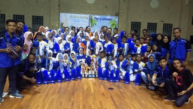 Marching Band MI Hidayatus Syubban Semarang Juara Tingkat Provinsi