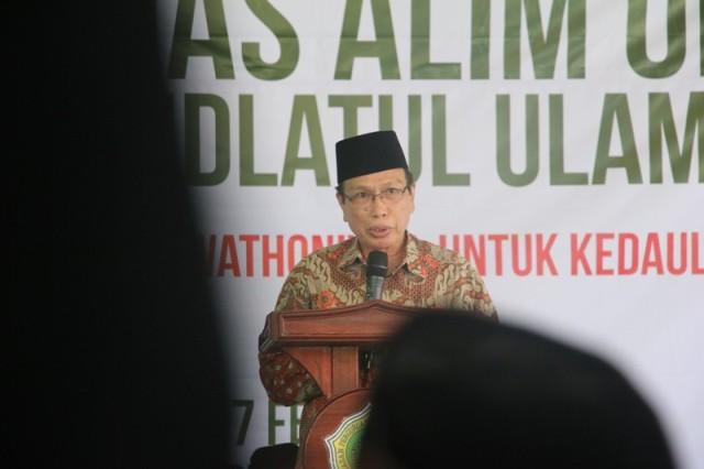 Kiai Masdar: NU Jangkar Keutuhan Indonesia