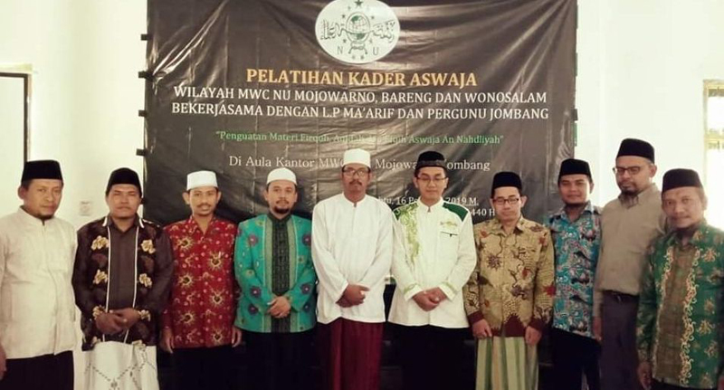 Guru-guru di Tiga Kecamatan Ini Dikader Jaga Aswaja An-Nahdliyah