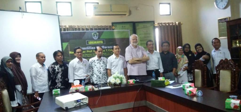 Guru Besar Malaysia Prihatin Punahnya Bahasa Baku di Kalimantan