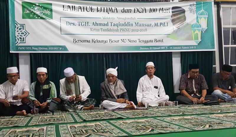 PWNU NTB Gelar Lailatul Ijtima dan Peringatan 100 hari Tuan Guru Ahmad Taqiyuddin