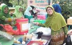 Muslimat NU Kawedanan Persembahkan Warung Kuliner 'Bundamu'