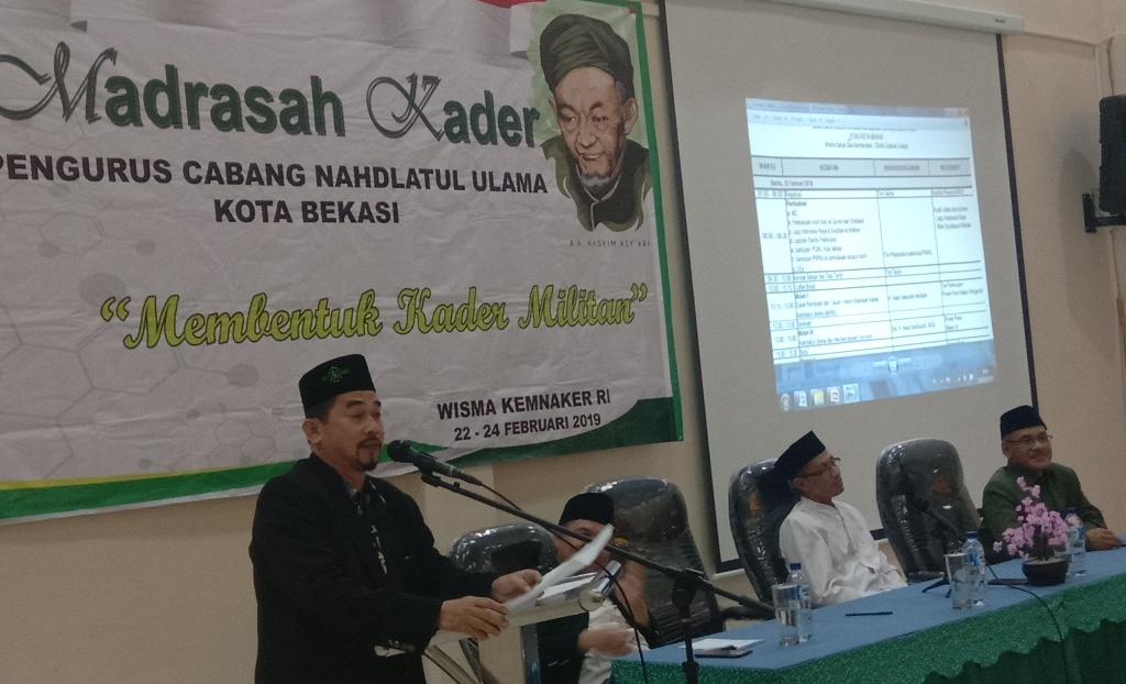 Ketua PCNU Kota Bekasi Sebut Kriteria Pemimpin NU