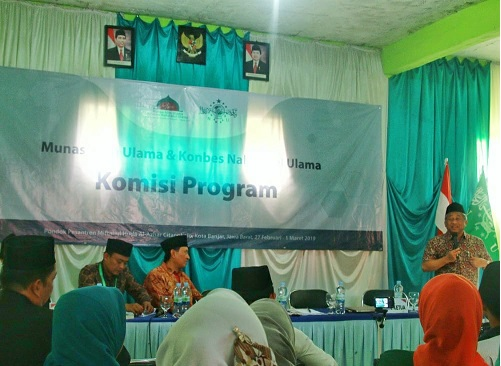 Sejumlah Program Strategis NU Dibahas di Komisi Program Munas NU
