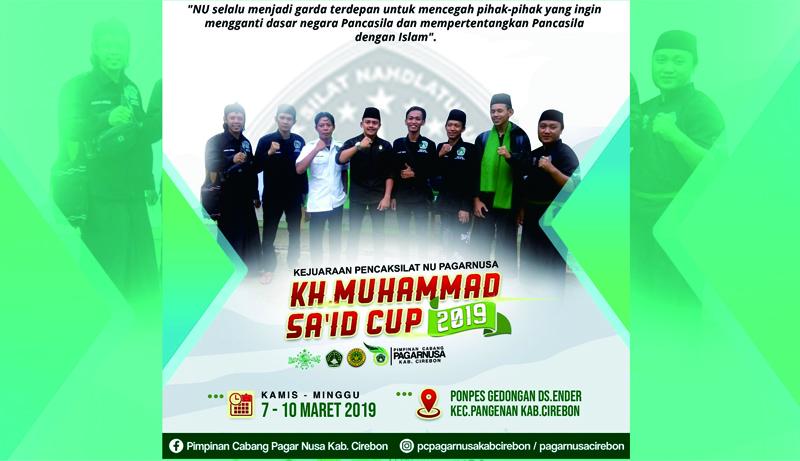 Peringati Haul KH Muhammad Said, Pagar Nusa Cirebon Gelar Lomba Pencak Silat