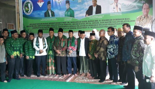 Lantik Pergunu Riau, Kiai Asep Pesan Jaga Aswaja di Bumi Melayu