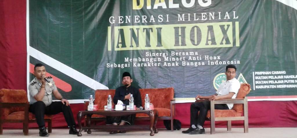 IPNU-IPPNU Mempawah Ingatkan Generasi Milenial Tolak Hoaks