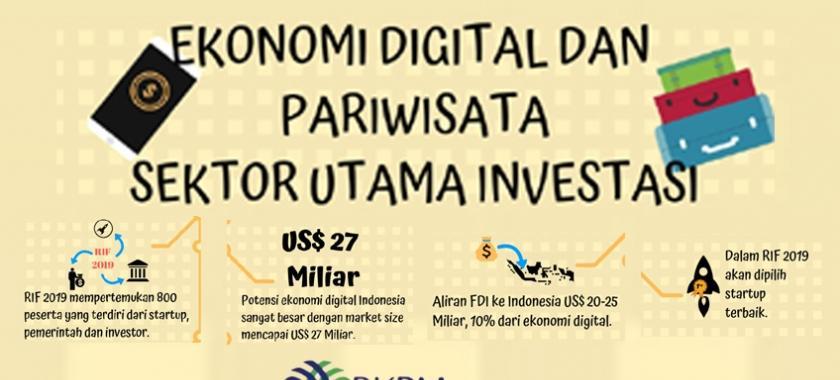 Peluang Investasi Ekonomi Digital dan Pariwisata 2019