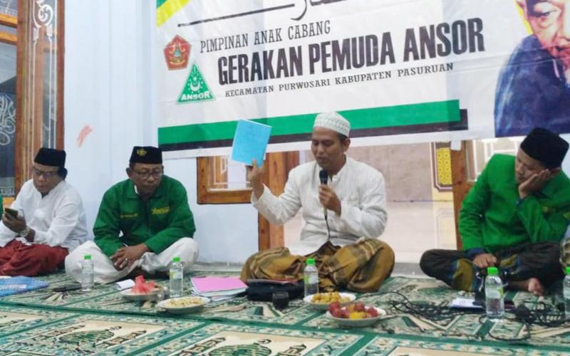 NU Pasuruan Kenalkan Kitab Karya Almaghfurlah KH Jakfar Shodiq Kejayan