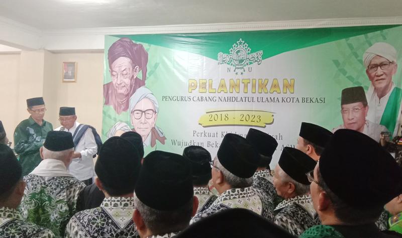 Usai Dilantik, Ini yang Akan Dilakukan PCNU Kota Bekasi