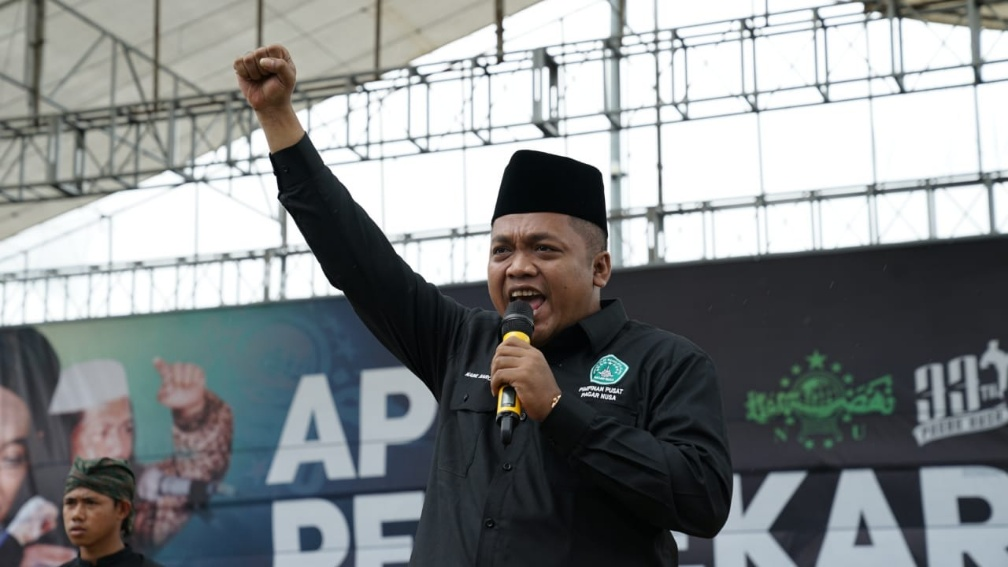 Harlah Pagar Nusa Ke-33, Gus Nabil: Jaga NKRI dan Kiai Sampai Mati