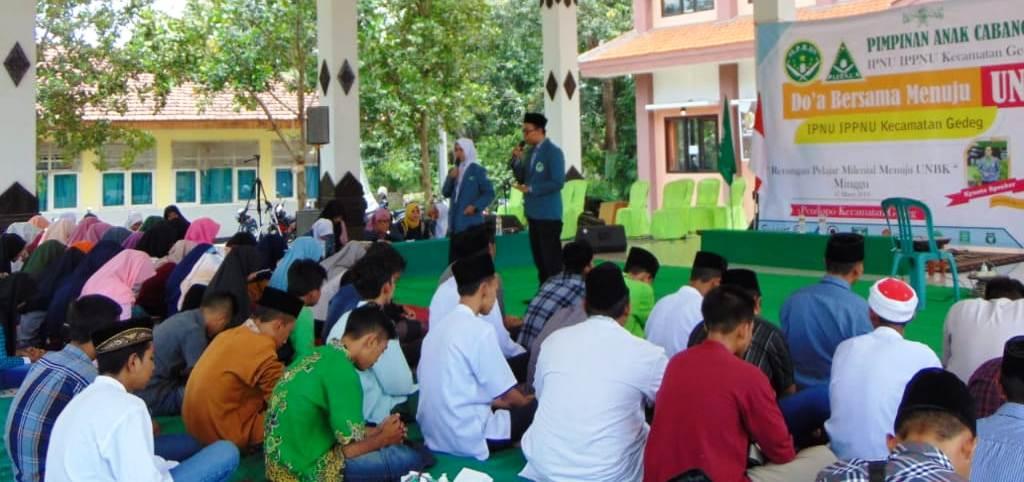 Hadapi UNBK, IPNU-IPPNU Adakan Doa Bersama dan Hipnoterapi