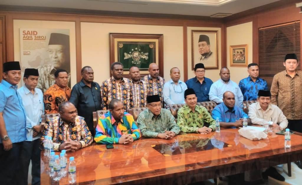 Majelis Rakyat Papua Curhat Persoalan Radikalisme Agama ke PBNU