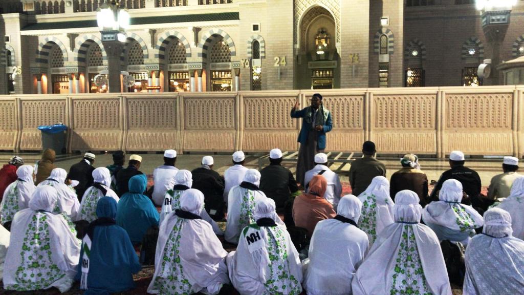 Istighotsah dan Munajat Jamaah Umrah untuk Kebaikan Negeri