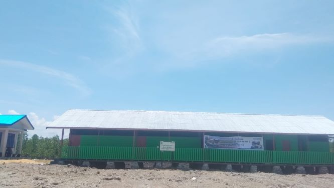 NU Care helps complete school construction in Sorong