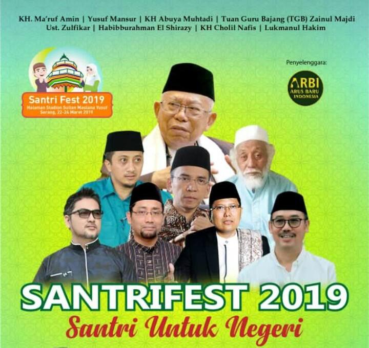 Dibuka Besok Pagi, SantriFest 2019 Tampilkan Beragam Karya