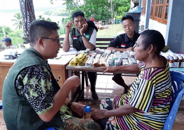 Wabup Jayapura Apresiasi Kinerja Tim NU Peduli di Lokasi Bencana