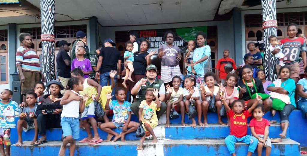 Wabup Jayapura Bangga Kiprah NU Peduli Tangani Banjir Bandang