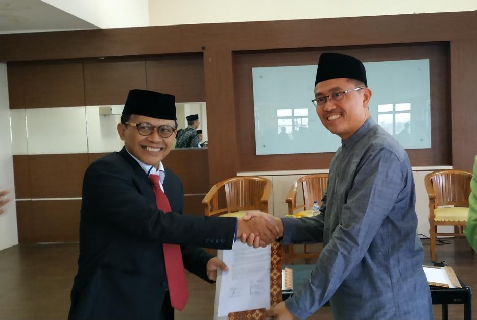 Dilantik, Ini Tekad Dekan Baru Fakultas Islam Nusantara Unusia