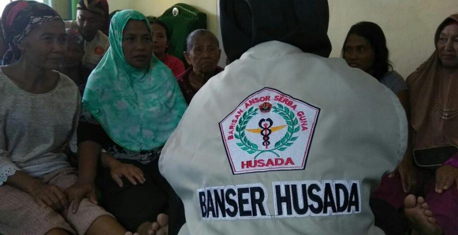 Ribuan Warga Lampung Terima Manfaat Gerakan SehATS Bersama Ansor