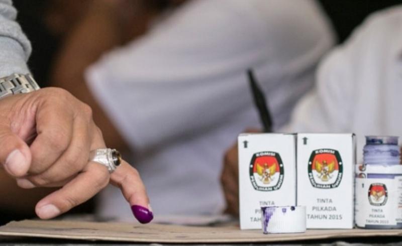 Hukum Shalat dengan Sisa Tinta Pemilu