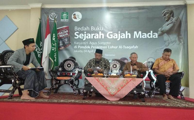 Agus Sunyoto Sebut Konsep Persatuan Nusantara Hanya Muncul di Jawa