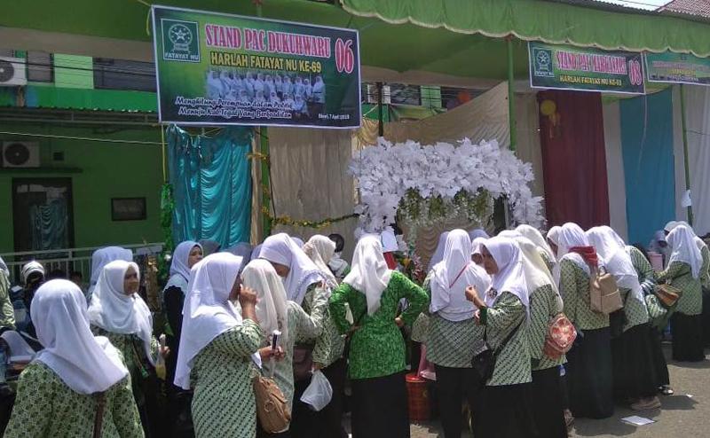 Bazar dan Pameran Meriahkan Harlah Fatayat NU di Kabupaten Tegal