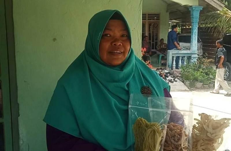 Sepenggal Kisah 'Sukses' Seorang Ibu di Kawasan Gambut