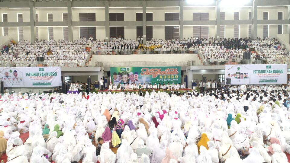 Gelar Istighotsah Akbar, NU Bojonegoro Mantap Bersatu